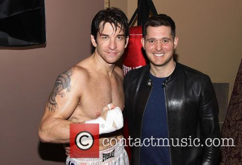 Andy Karl and Michael Buble 3
