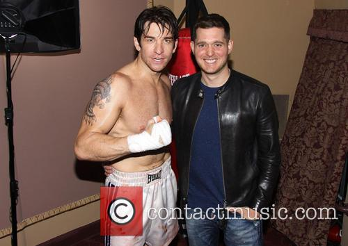 Andy Karl and Michael Buble 1