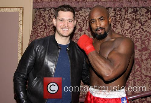 Michael Buble and Terence Archie 2