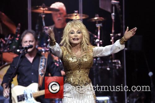 Dolly Parton performing at O2 World in Berlin