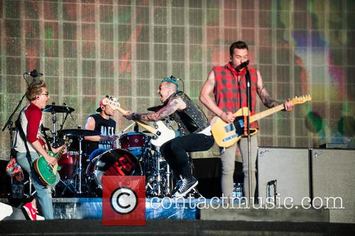 Danny Jones, Harry Judd, Tom Fletcher, Matt Willis and Mcbusted 1