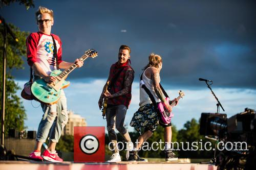 Tom Fletcher, Danny Jones, Dougie Poynter and Mcbusted 2