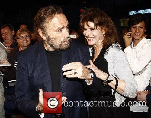 Fanny Ardant and Franco Nero