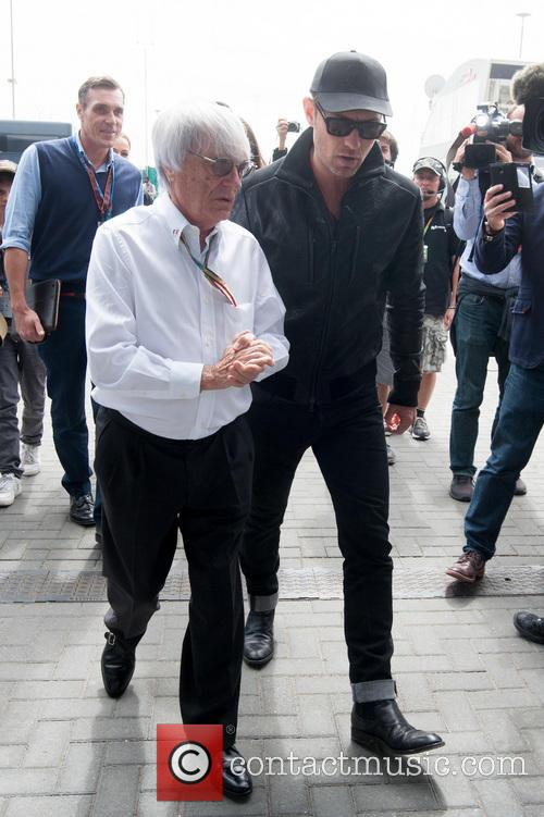 Jude Law and Bernie Ecclestone 2