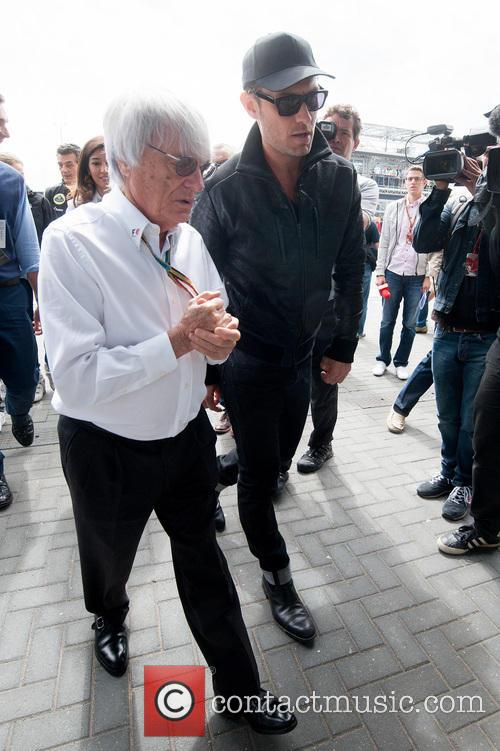 Jude Law and Bernie Ecclestone 3