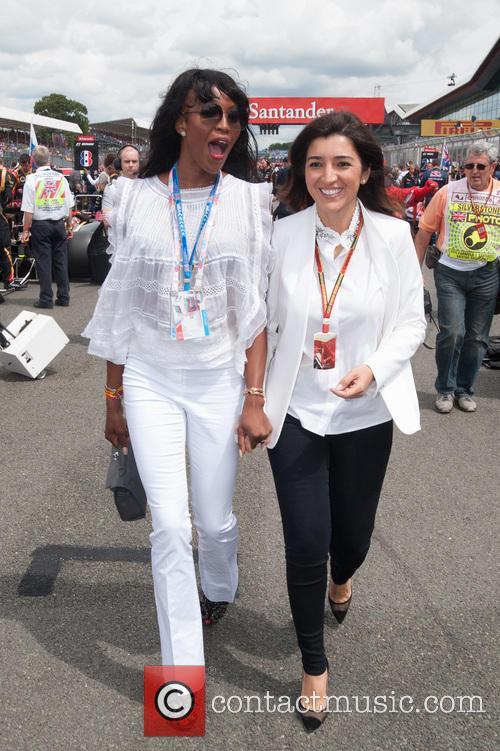 Naomi Campbell and Fabiana Flosi 3