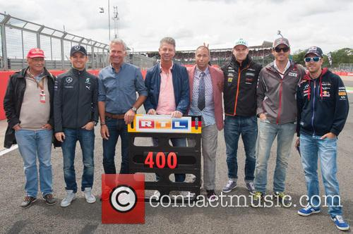 Niki Lauda, Sebastian Vettel and Nico Rosberg 2