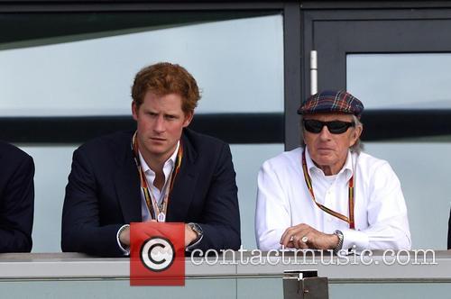 Prince Harry and Sir Jackie Stewart 2