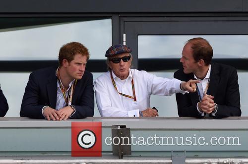Prince Harry and Sir Jackie Stewart 4