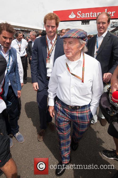 Prince Harry and Sir Jackie Stewart 6