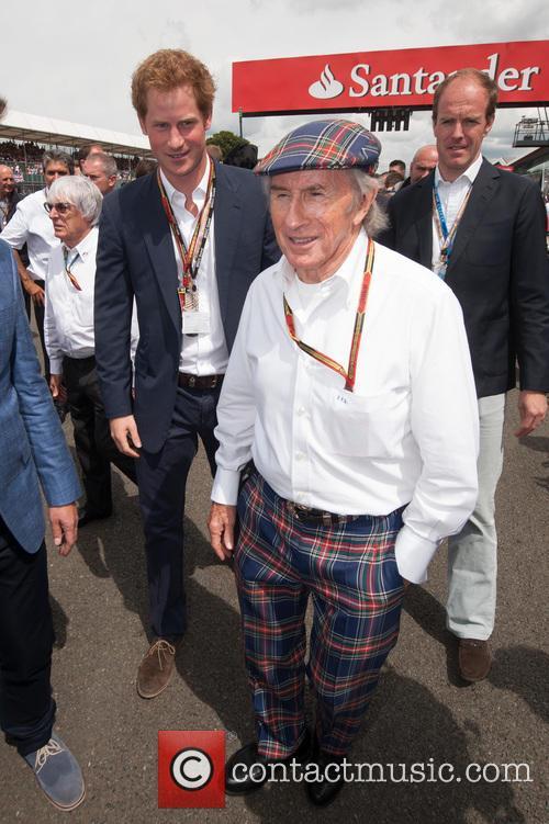 Prince Harry and Sir Jackie Stewart 1