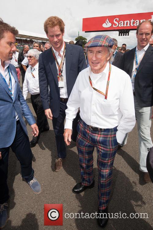 Prince Harry and Sir Jackie Stewart 10