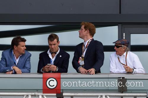 Prince Harry and Sir Jackie Stewart 11