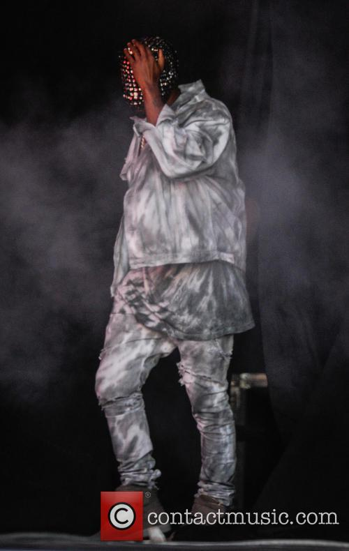 Kanye West, Perry Park, Wireless Festival
