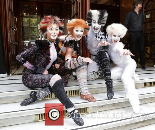 Cats the musical photocall