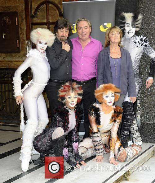 Andrew Lloyd Webber, Trevor Nunn and Gillian Lynne 5