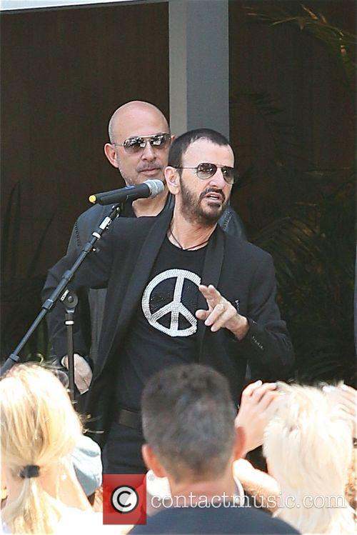 ringo starr john varvatos ringo starrs 74th birthday 4275809