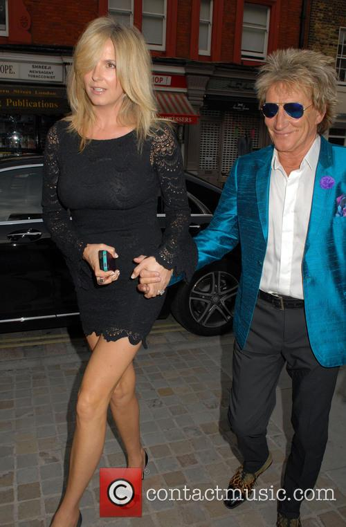 Penny Lancaster and Rod Stewart 8