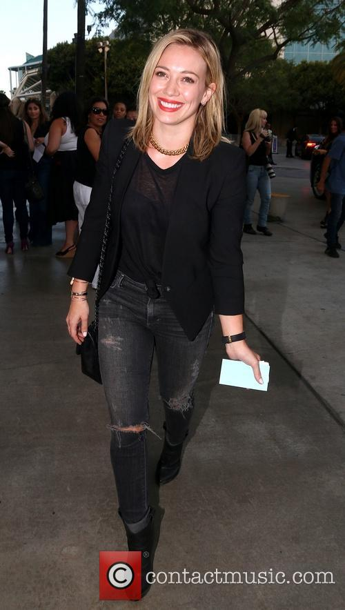 Hilary Duff Staples Center