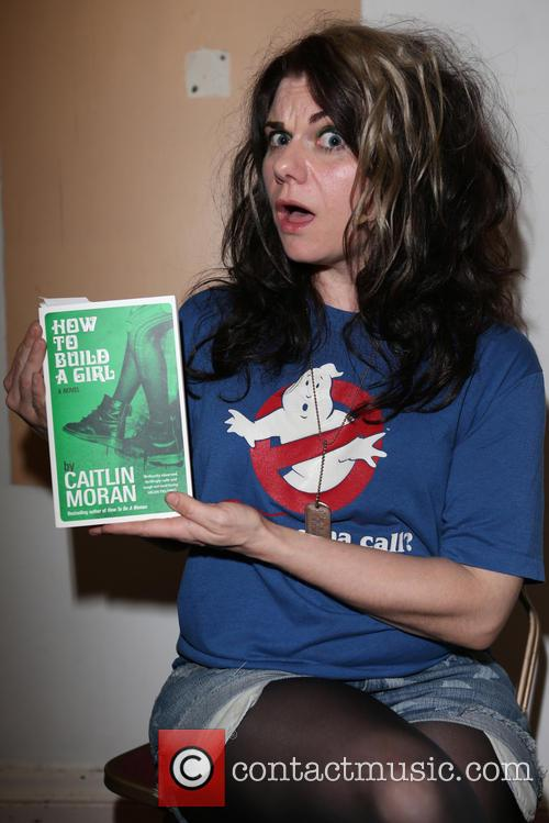 Caitlin Moran performs live in her new show...