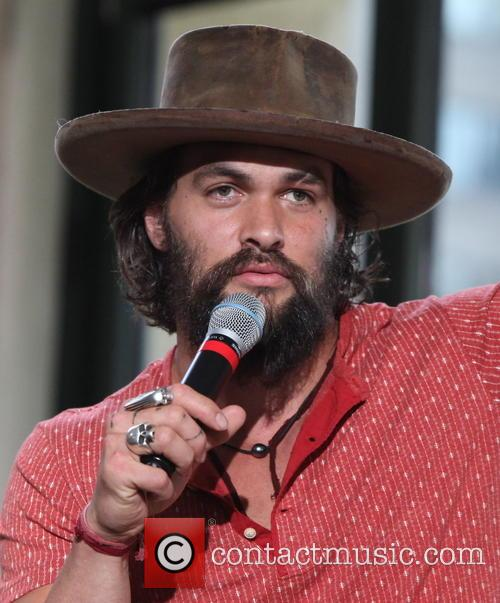 Jason Momoa during his AOL interview