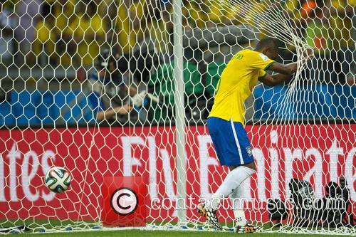 2014 FIFA World Cup semi-final match - Brazil...