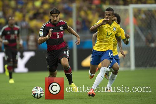 2014 FIFA World Cup semi-final match - Brazil...