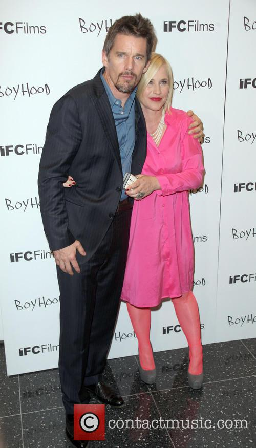 Ethan Hawke and Patricia Arquette 4