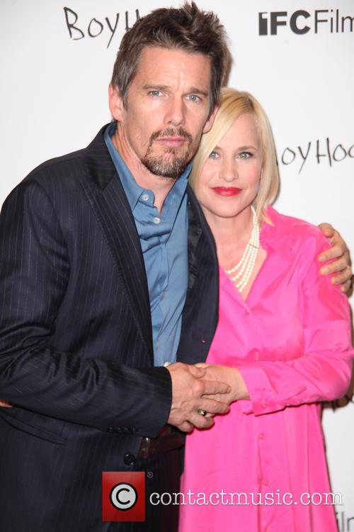 Ethan Hawke and Patricia Arquette 5