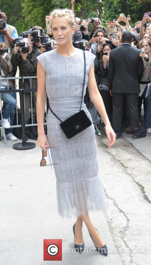 Celebrities arriving at the Chanel Catwalk Show