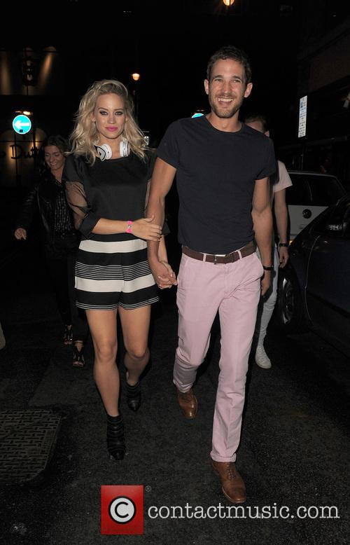 Kimberly Wyatt and Max Rogers 7