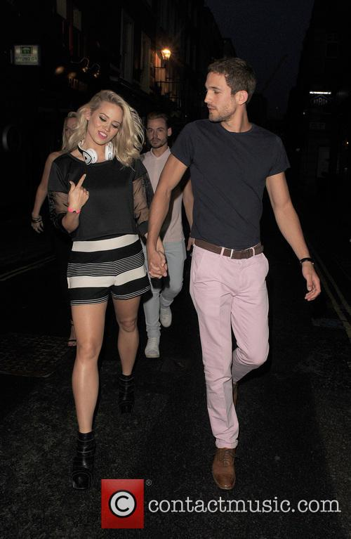 Kimberly Wyatt and Max Rogers 1