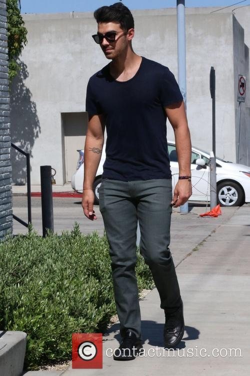 Joe Jonas out and about