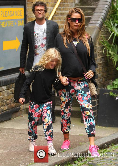 Katie Price, Princess Tiaamii Crystal Esther Andre, Princess Tiaamii Andre and Jordan 1