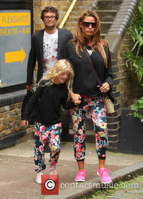 Katie Price, Princess Tiaamii Crystal Esther Andre, Princess Tiaamii Andre and Jordan 4