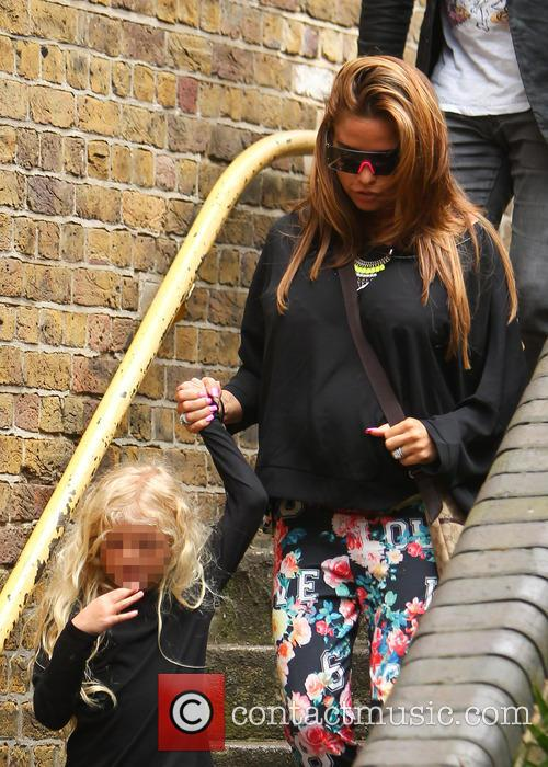 Katie Price, Princess Tiaamii Crystal Esther Andre, Princess Tiaamii Andre and Jordan 7