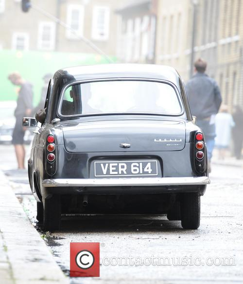 Tom Hardy  Filming Legend in London