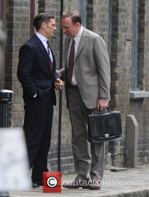 Tom Hardy and David Thewlis 5