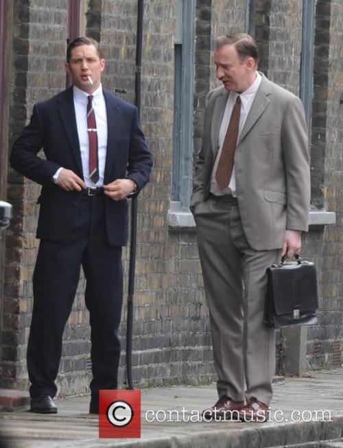 David Thewlis and Tom Hardy