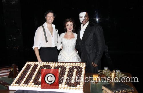 Broadway's Phantom 11,000th Performance - After Party