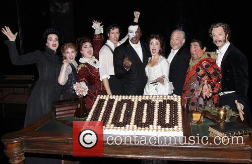 Michele Mcconnell, Jeremy Hays, Norm Lewis, Sierra Boggess, Tim Jerome and Christian Sebek 3