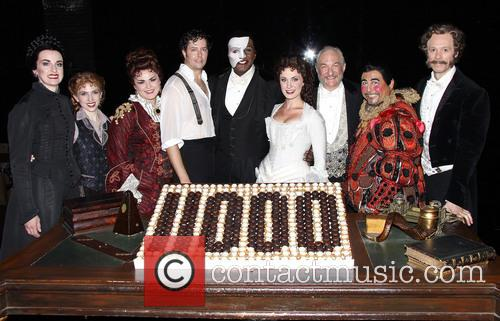 Michele Mcconnell, Jeremy Hays, Norm Lewis, Sierra Boggess, Tim Jerome and Christian Sebek 1