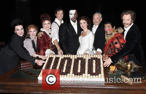 Michele Mcconnell, Jeremy Hays, Norm Lewis, Sierra Boggess, Tim Jerome and Christian Sebek 4