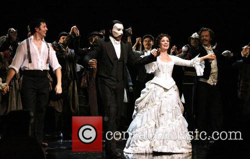 Broadway's Phantom 11,000th Performance - Curtain Call