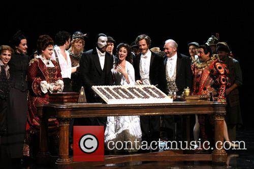 Broadway's Phantom 11,000th Performance - Curtain Call