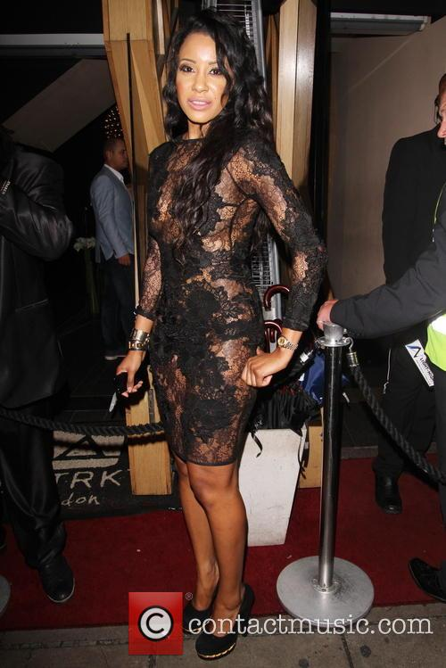 Celelbrities at DSTRKT nightclub in London