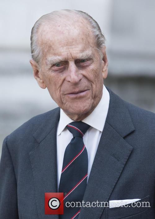Prince Philip, The Duke of Edinburgh attends a...