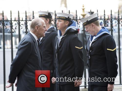 Prince Philip, The Duke of Edinburgh attends a...