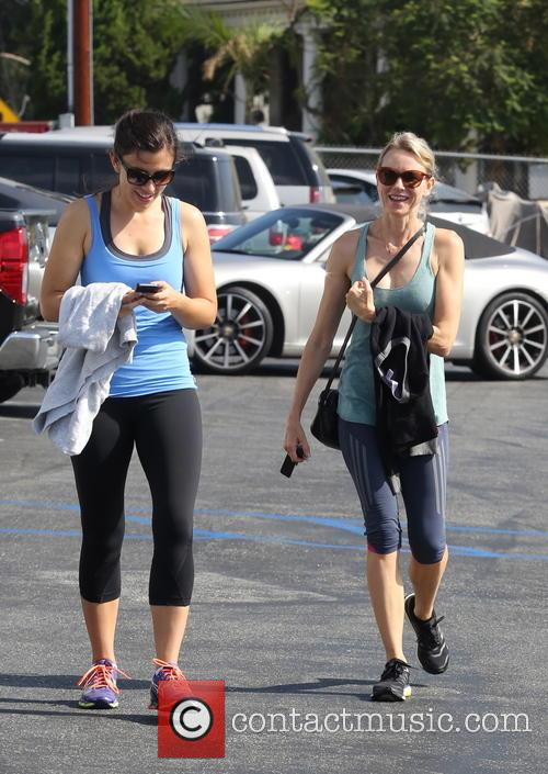 Naomi Watts seen leaving spinning class