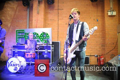 The Vamps in concert at The Rainbow Theatre